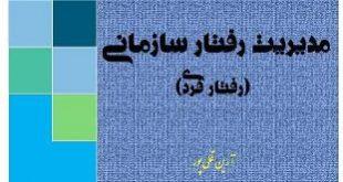دانلود خلاصه کتاب رفتار سازمانی آرین قلی پور
